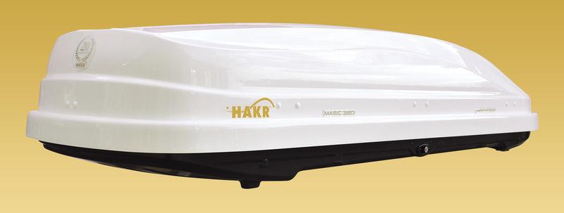 Magic 320l krovni koferi – metalik beli